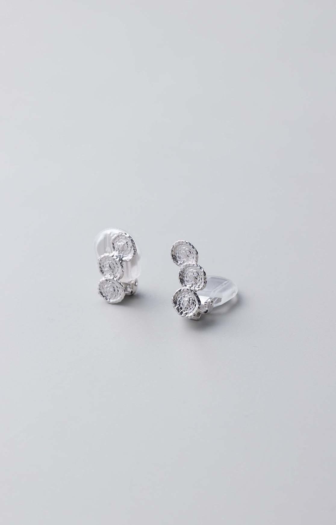 Knit Earring Silver925(RH.P)