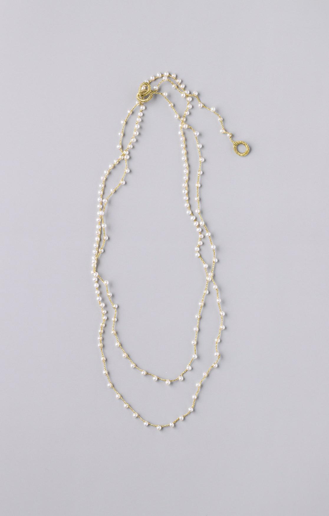 Sazanami Pearl Necklace