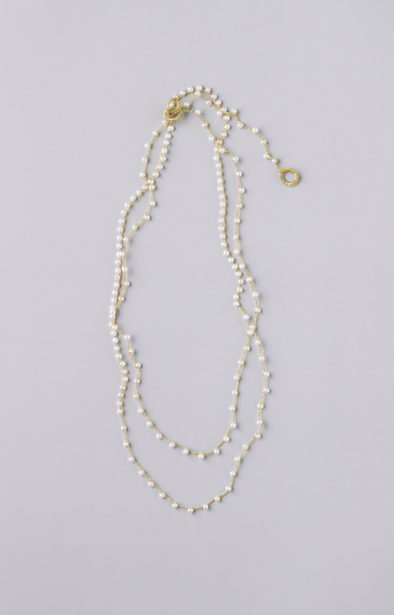 Sazanami Pearl Necklace