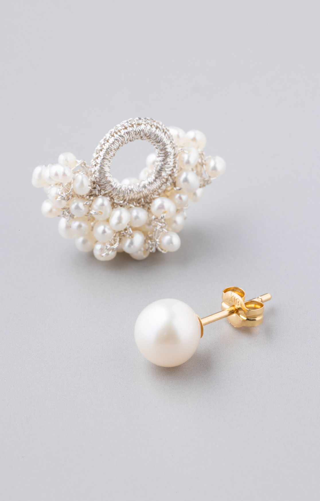 Pearl charm pierce