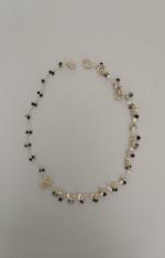 Rhythm Short Necklace Separate Queenconcierge Blackonyx Torumarin